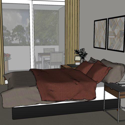 2-kamer Appartement Modern 2