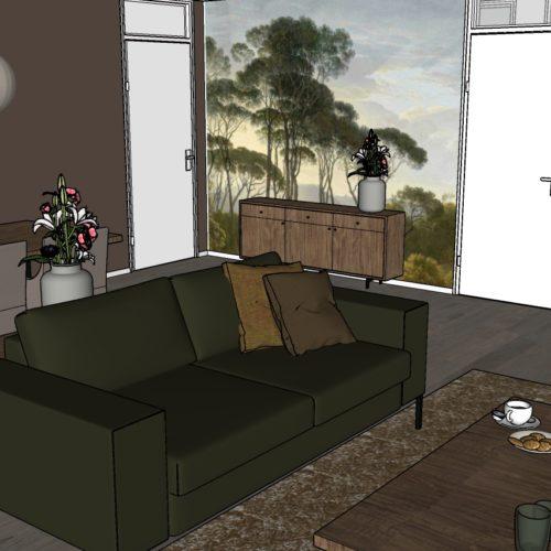 3-kamer Appartement Modern 1